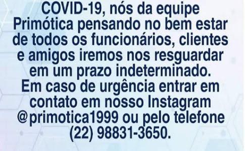 COMUNICADO URGENTE !!!!!!!!