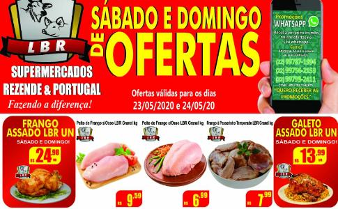 Sabadão e Domingo de ofertas no Supermercado Rezende & Portugal