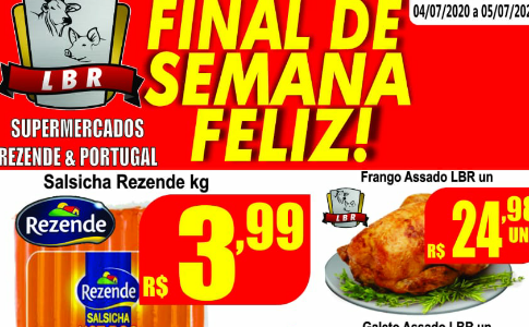 Final de semana Feliz é no Supermercado Rezende & Portugal
