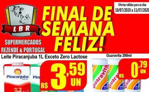 Final de semana Feliz no Supermercado Rezende & Portugal