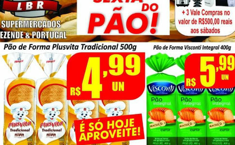 Sexta do Pão no Supermercado Rezende & Portugal