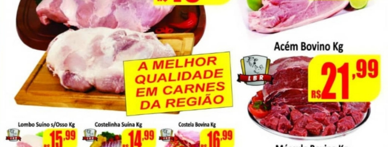 Supermercados Rezende: Quinta da carne