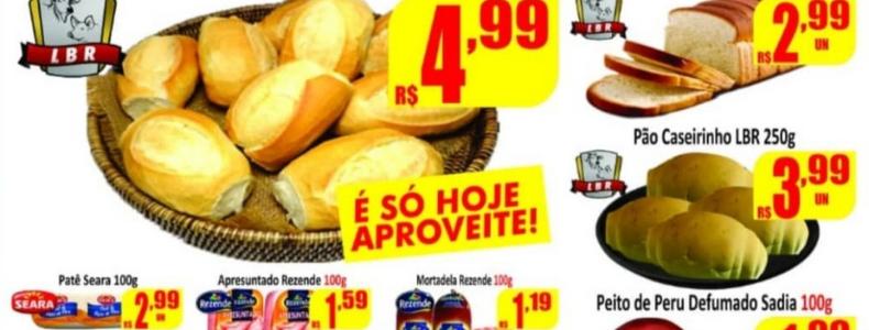 Hoje é dia de sexta do Pão e do Peixe nos Supermercados Rezende