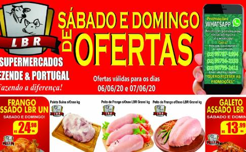 Sábado e Domingo de ofertas no Supermercado Rezende & Portugal