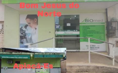 Bom Jesus do Norte-Es: Laboratório Biomed: Excelente conceito em Saúde